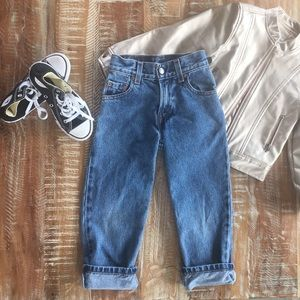 Levi's 550 relaxed fit slim jeans